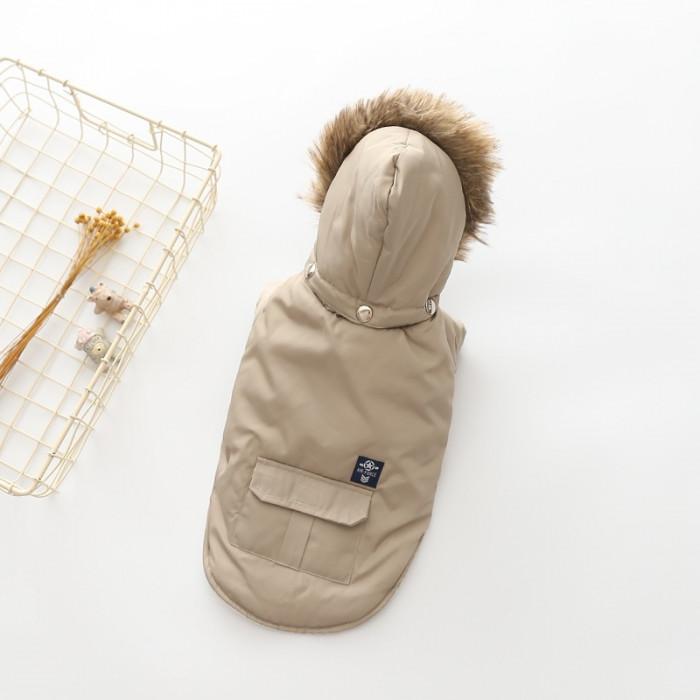 "Куртка ""Air Force"", цвет серый, размер L (длина спины 35 см)"