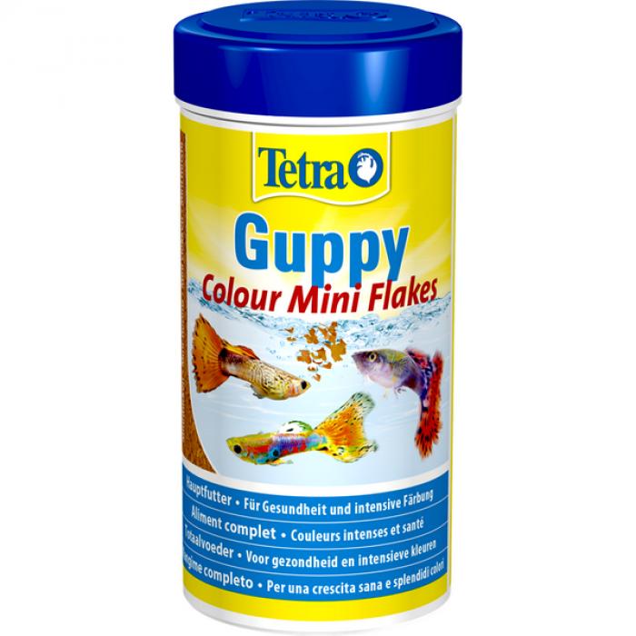 Tetra Guppy Colour корм для гуппи для улучшения окраса, 100 мл