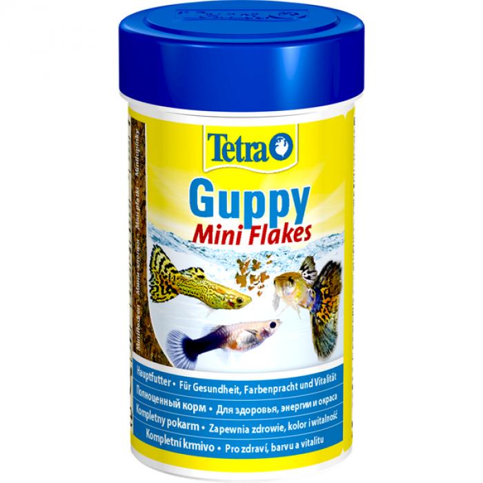 Tetra Guppy корм в хлопьях для гуппи, 100 мл