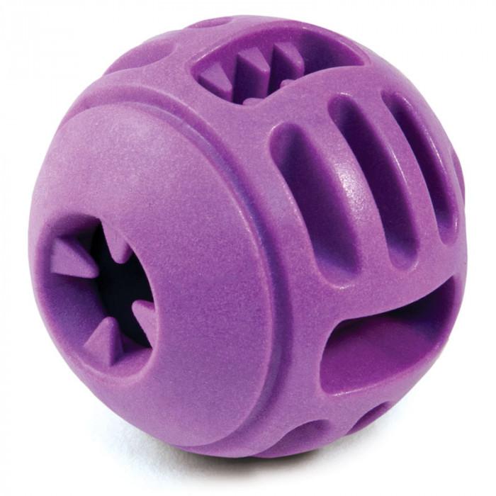 """Игрушка AROMA для собак из термопласт. резины """"Мяч с ручкой"""", d80мм"""