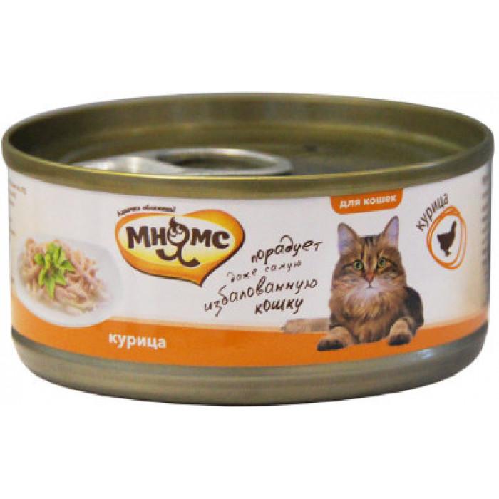 Корм Мнямс консервы для кошек Курица нежном в желе, 70 г