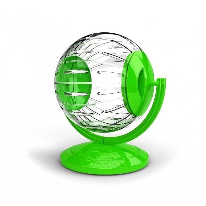 """Прогулочный пластиковый шар для грызунов """"Georplast"""" на подставке, 12,5 см"""