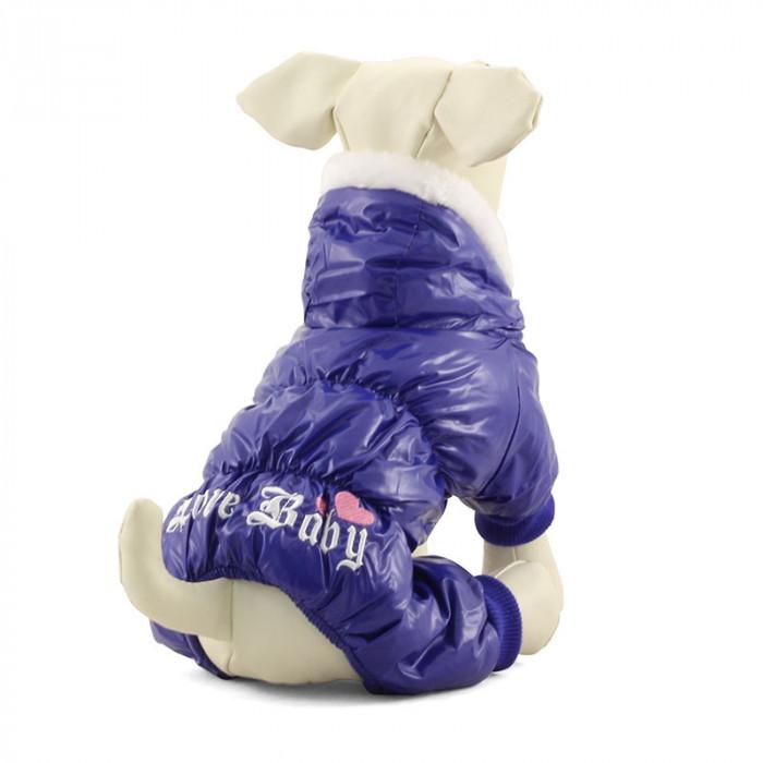 Комбинезон blue утепленный для собак, 20 см