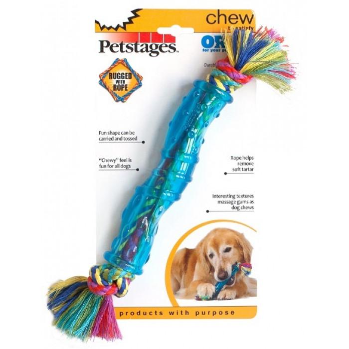 """Petstages игрушка для собак """"ОРКА палочка"""" 25 см средняя"""