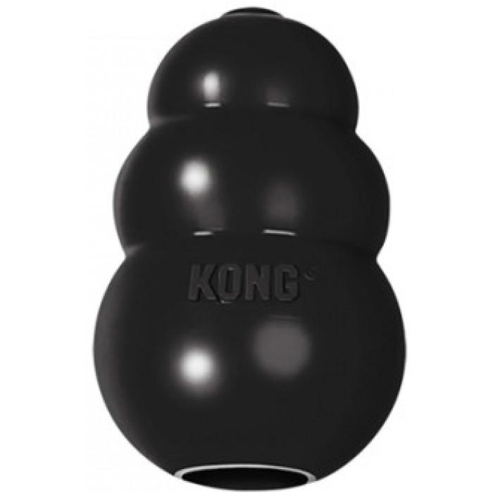 """KONG Extreme игрушка для собак """"КОНГ"""" M очень прочная средняя 8х6 см"""