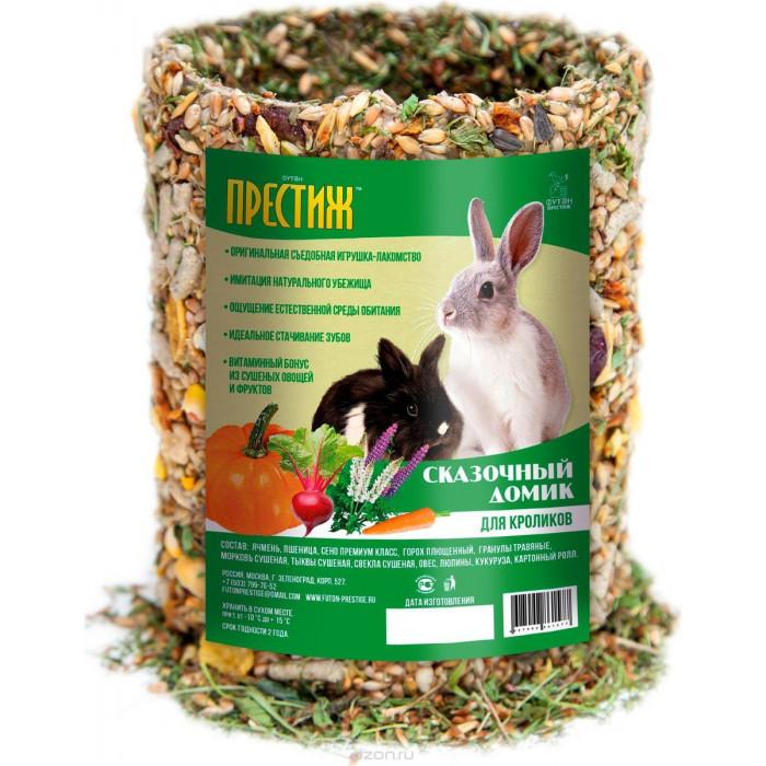 Престиж сказочный домик лакомство для кроликов