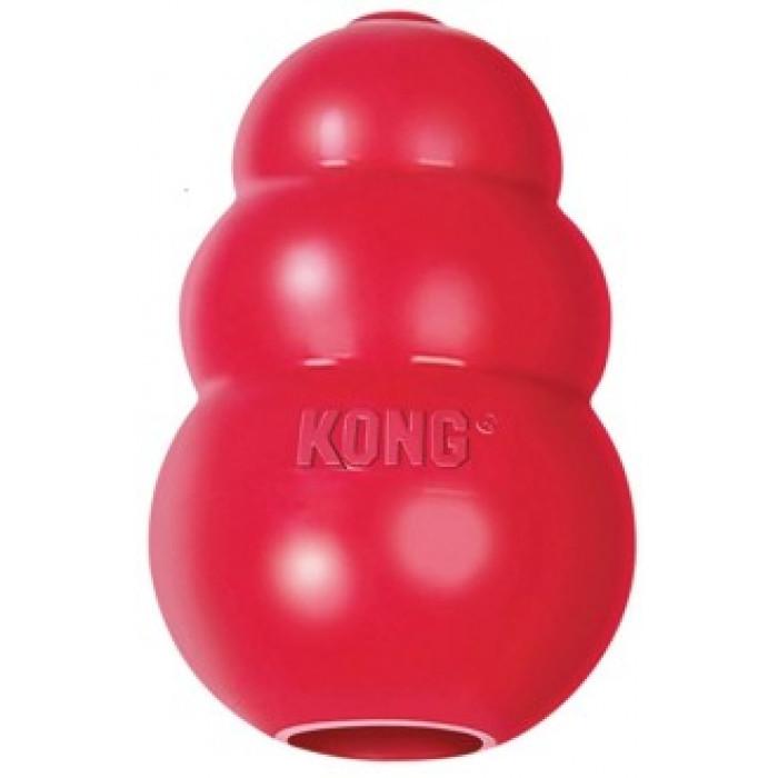 """KONG Classic игрушка для собак """"КОНГ"""" M средняя 8х6 см"""