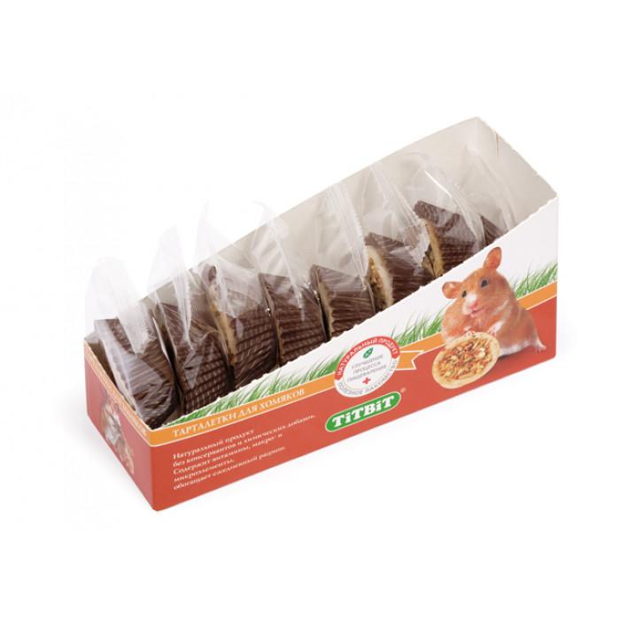 Тарталетка для хомяков с кабачком и фундуком (цена за 1 шт)