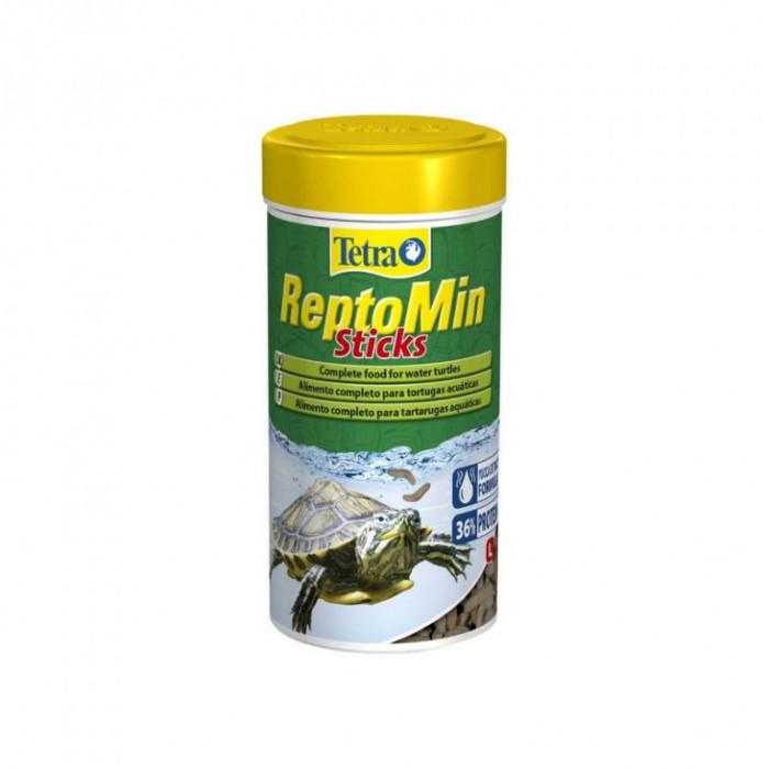 Корм Tetra ReptoMin в виде палочек для водных черепах, 100 мл