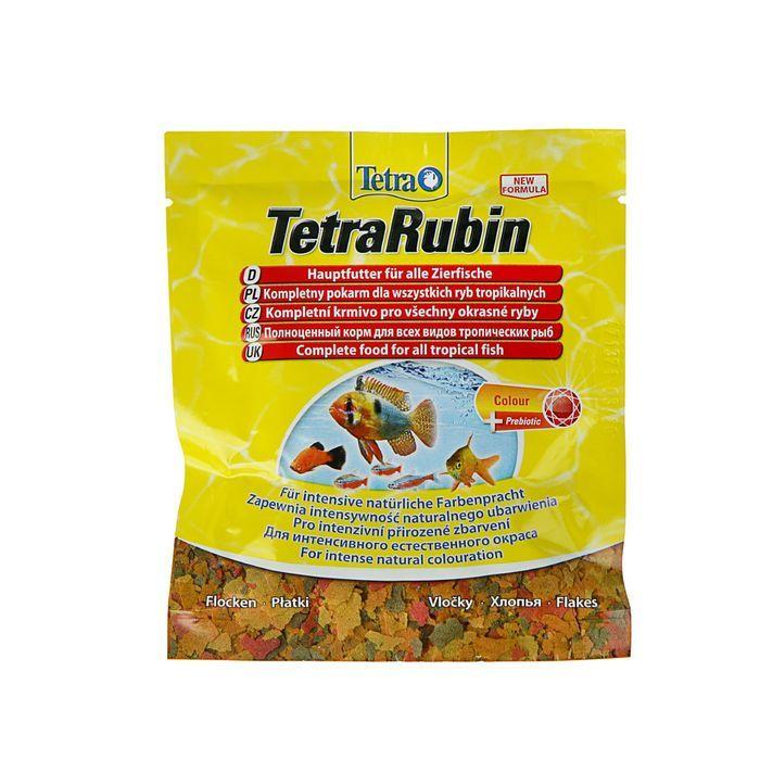 """Корм Tetra """"TetraRubin"""" для улучшения окраса всех видов тропических рыб, 12 г"""