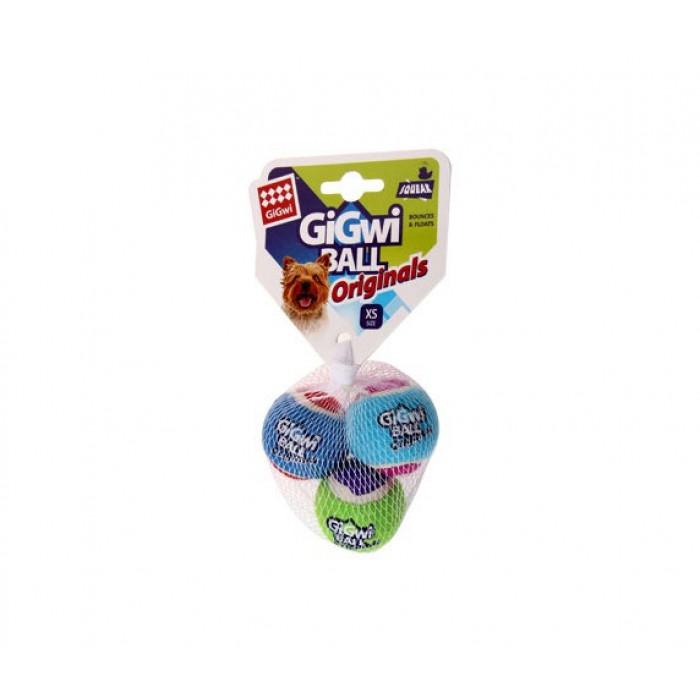 Gigwi 3 мяча с пищалкой 5 см (цена за 1шт)