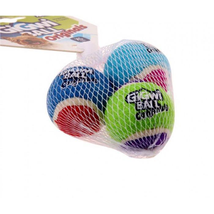 Gigwi 3 мяча с пищалкой 4 см ( цена за 1 шт )