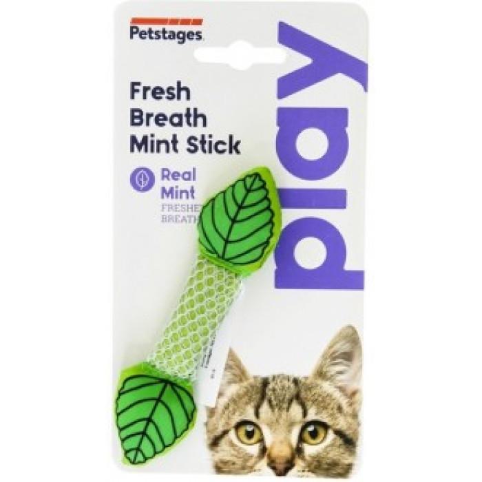 """Petstages игрушка для кошек Dental """"Мятный листик"""" 11 см"""