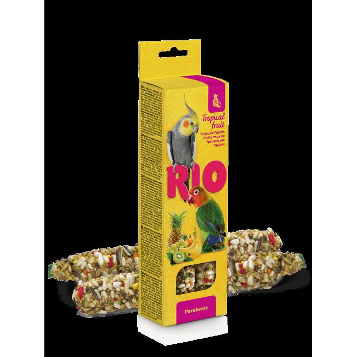 RIO Палочки для средних попугаев с тропическими фруктами ( 2 шт по 75 г)