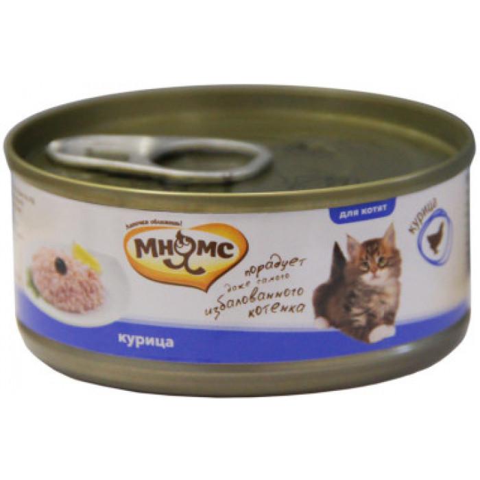 Корм Мнямс консервы для котят Курица в нежном желе, 70 г