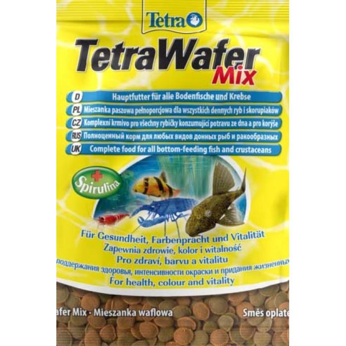 Корм TetraWaferMix чипсы для всех донных рыб 15 г