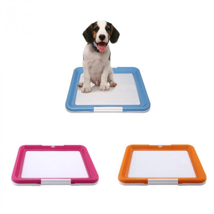 Туалет P549 для собак, цвет в ассортименте, 480*420*40мм