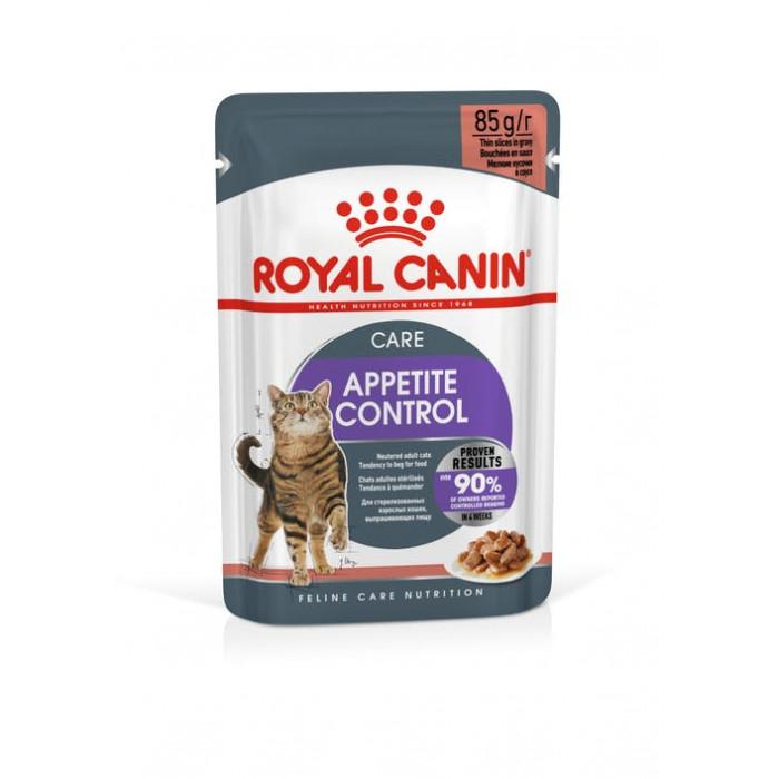 Корм Royal Canin Appetite Control для кошек (в соусе) контроль выпрашивания корма, 85 г