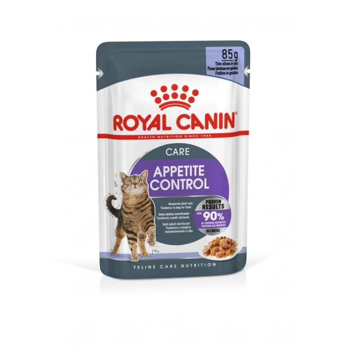 Корм Royal Canin Appetite Control (в желе) для кошек, контроль выпрашивания корма, 85 г