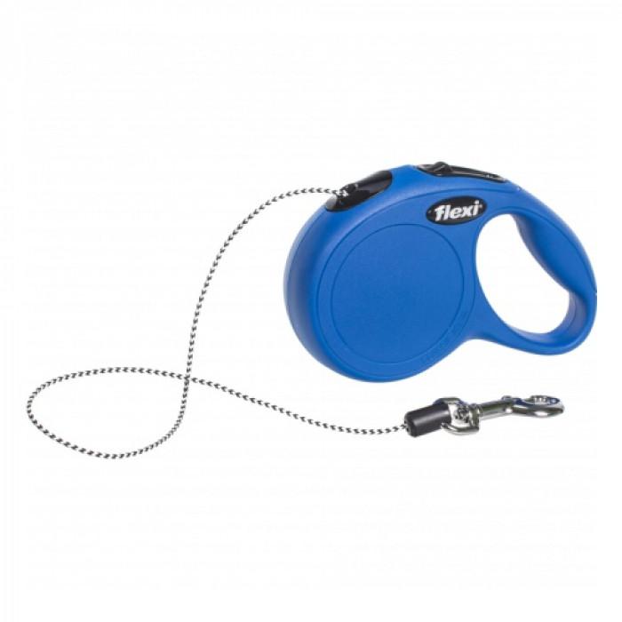 """Поводок-рулетка FLEXI NEW CLASSIC XS"""" лента для собак, до 12 кг синий 3 м"""