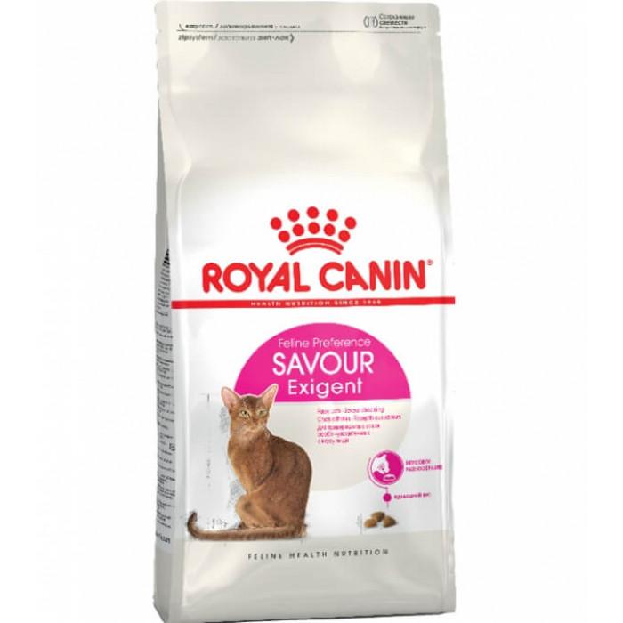 Корм Royal Canin Savour Exigent для требовательных к вкусу корма, 2 кг