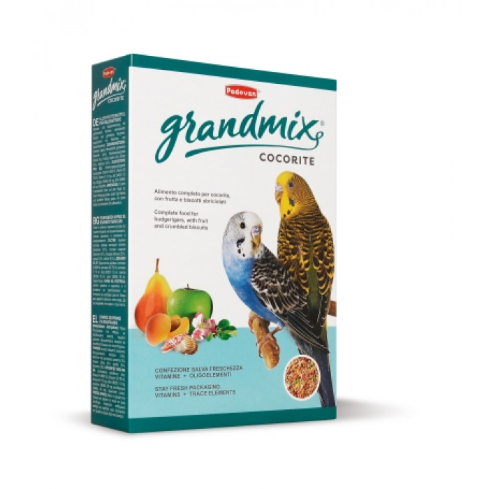 Padovan Корм для волнистых попугаев (Grandmix Cocorite), 1 кг