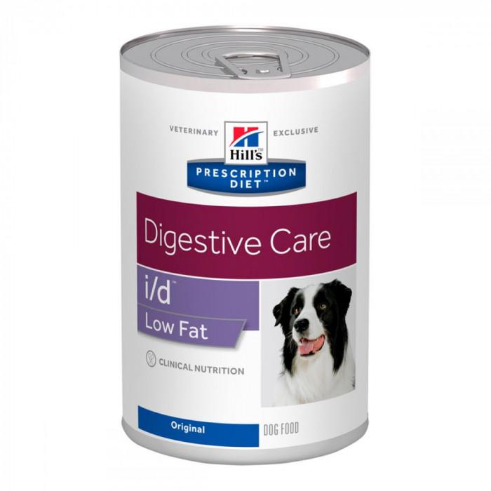 Корм Hill's Prescription Diet i/d Low Fat Digestive Care консервы для собак диета для поддержания здоровья ЖКТ и поджелудочной железы, 360 г