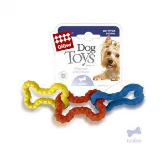 """Игрушка для собак """"Три резиновые косточки"""""""