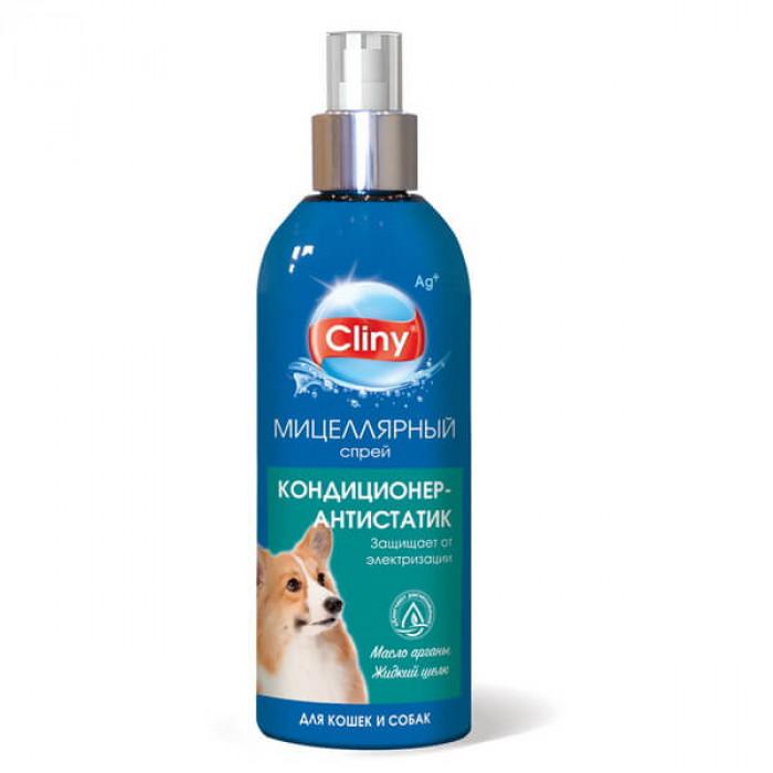 Cliny Кондиционер-антистатик для кошек и собак 200мл