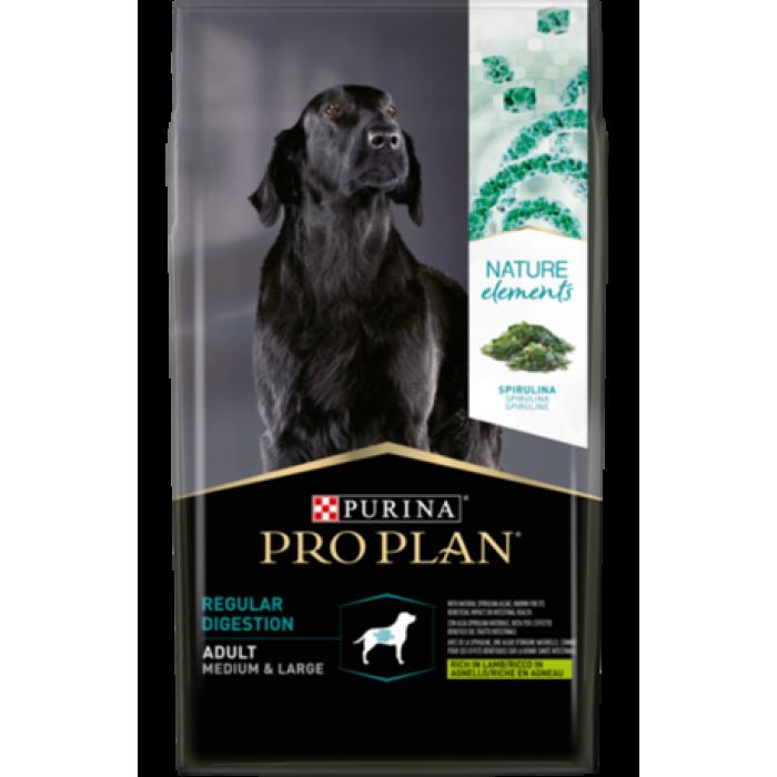 Корм Pro Plan Nature Elements Medium&Large для собак средних и крупных пород с чувствительным пищеварением с ягненком, 700 г