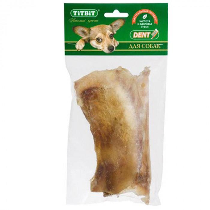 Titbit Хрящ лопаточный говяжий большой, мягкая упаковка