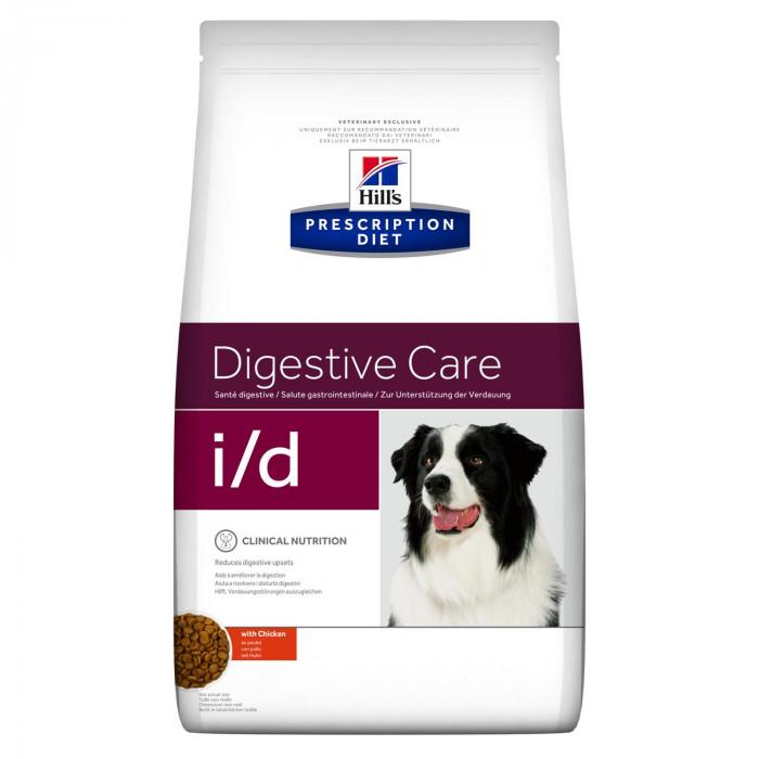 Корм Hill's Prescription Diet i/d Digestive Care для собак диета для поддержания здоровья ЖКТ с курицей, 2 кг