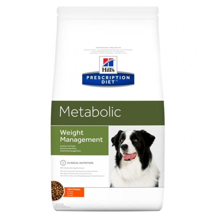 Корм Hill's Prescription Diet Metabolic Weight Management для собак диета для достижения и поддержания оптимального веса с курицей, 1.5 кг