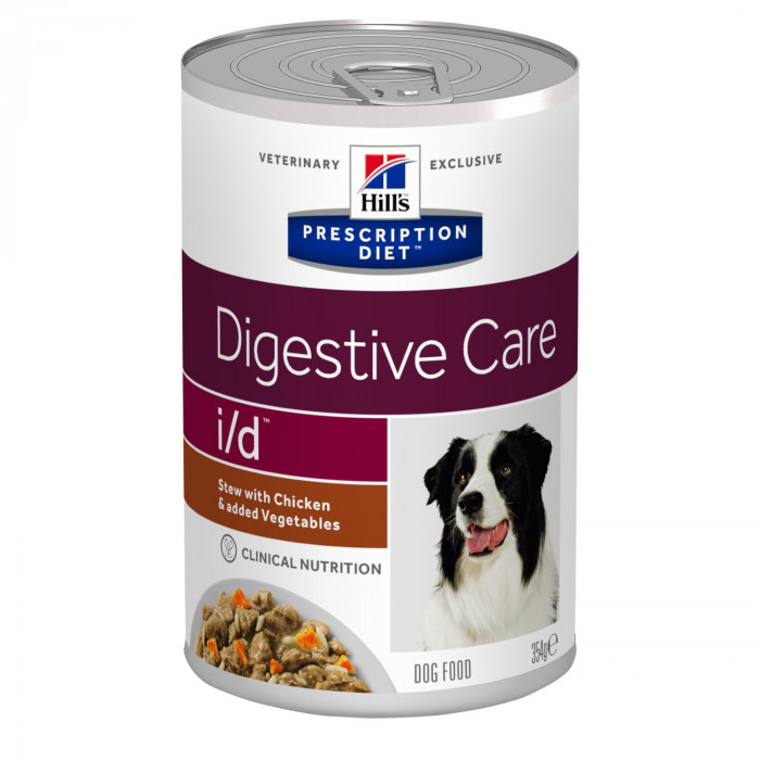 Корм Hill's Prescription Diet i/d Digestive Care (рагу) для собак при расстройстве ЖКТ, курица с овощами, 354 г