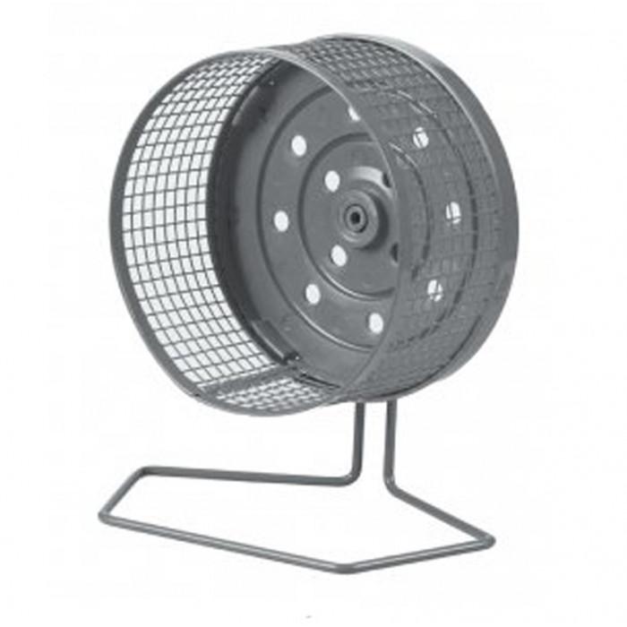 Колесо беговое для хомяков металлическое диаметр 13 см