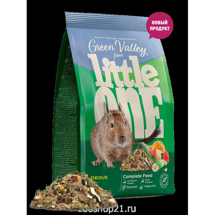 Little One «Зеленая долина». Корм для дегу 750 г