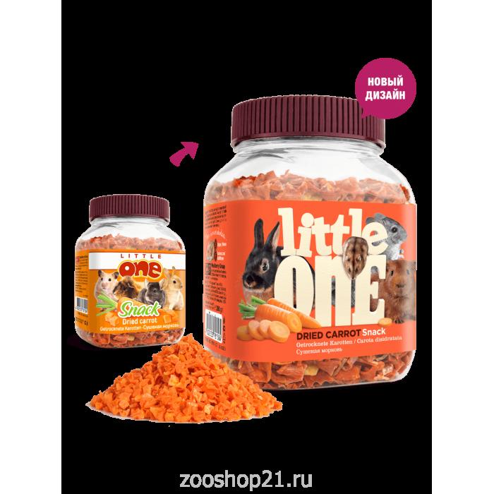 Littlle one лакомство для грызунов с морковью, 200 г