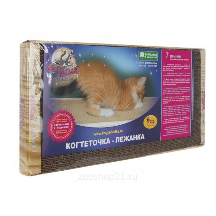 Когтеточка для кошек, 56х30 (гофрокартон)