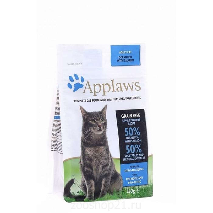 Корм Applaws беззерновой для кошек с океанической рыбой, 1.8 кг