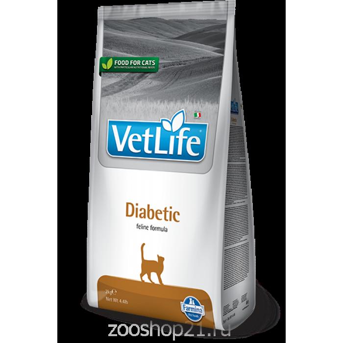 Корм Farmina Vet Life Diabetic для кошек при диабете, 400 г