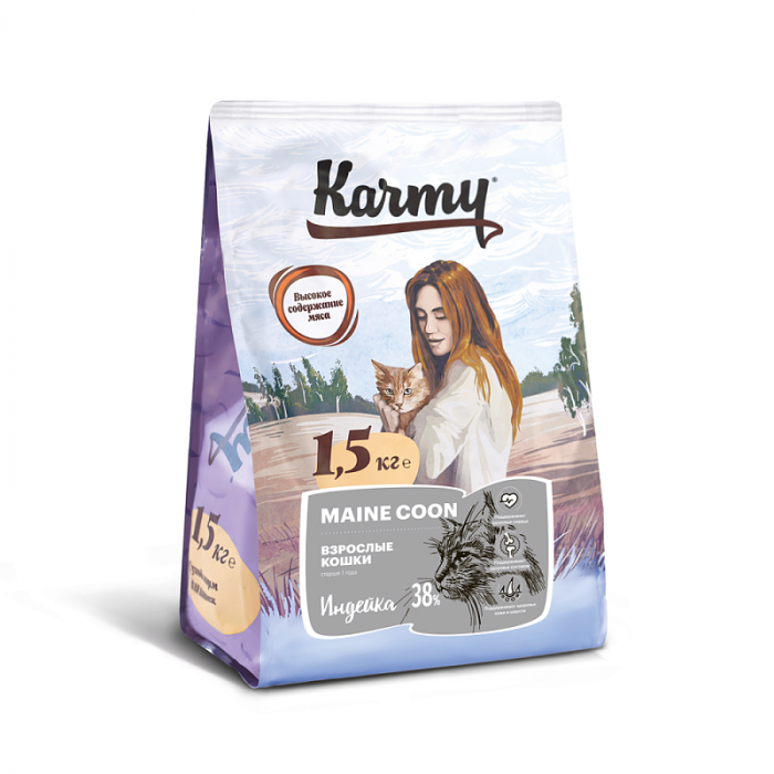 Корм KARMY для Мэйн Кунов, 400 г