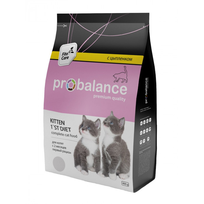 Корм ProBalance для котят c цыпленком, 400 г