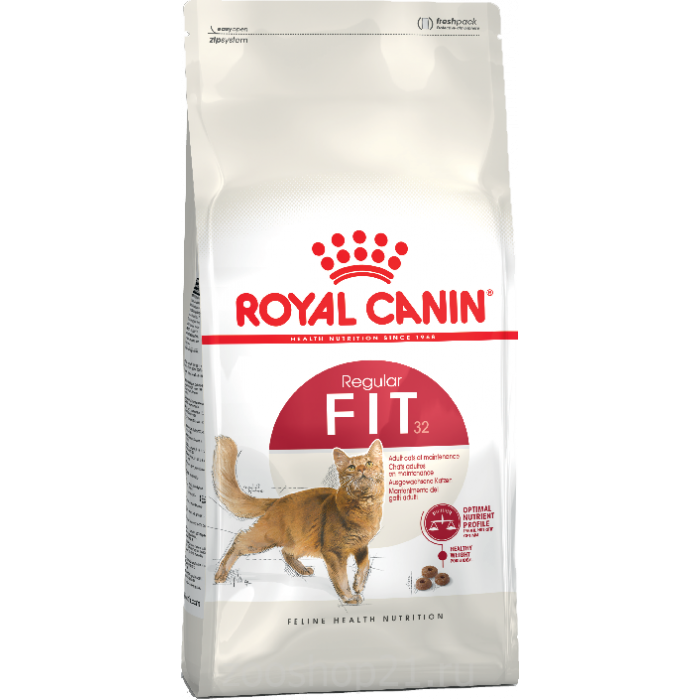 Корм Royal Canin Fit для взрослых кошек 1-7 лет, 15 кг