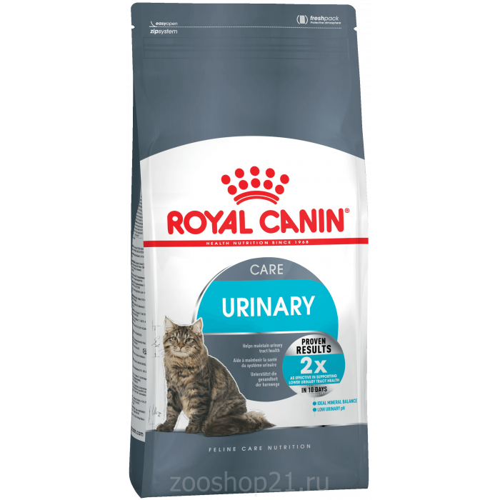 Корм Royal Canin Urinary Care для профилактики МКБ, 2 кг