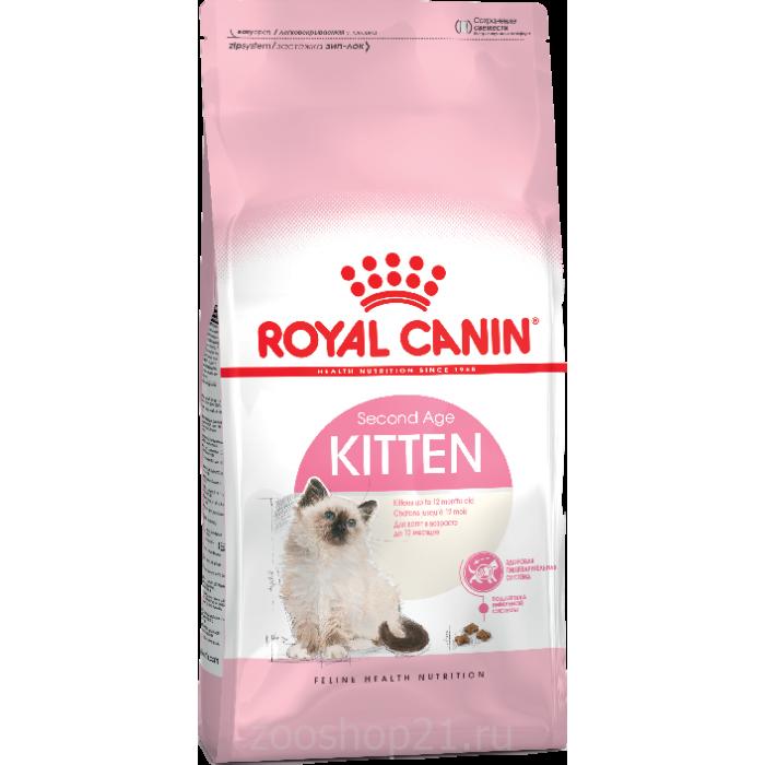 Корм Royal Canin Kitten для котят от 4 до 12 мес., 400 г
