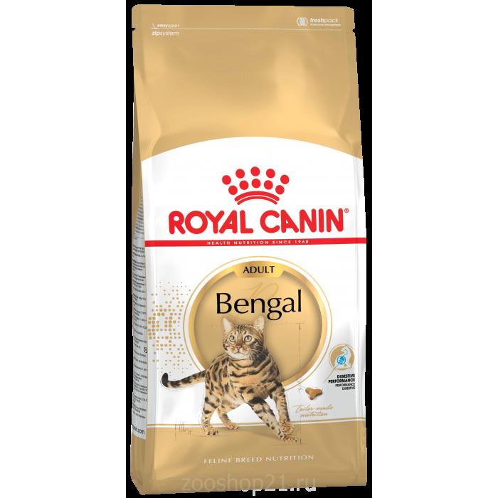 Корм Royal Canin Bengal для бенгальских кошек, 2 кг