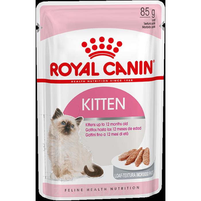 Корм Royal Canin Kitten (паштет) для котят от 4 до 12 мес., 85 г