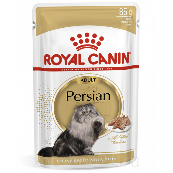 Корм Royal Canin Persian Adult (паштет) для персидских пород старше 1 года, 85 г