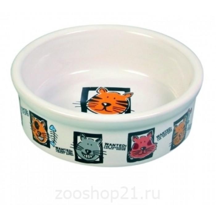 Миска керамическая для кошек 200 мл/ф 11,5 см