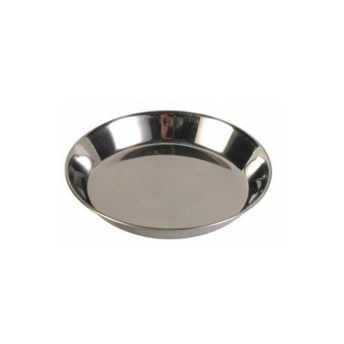 Миска для кошек стальная, малая 0,1л*11см